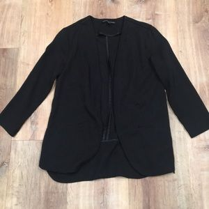 Nordstrom brand Harlow and Graham black blazer